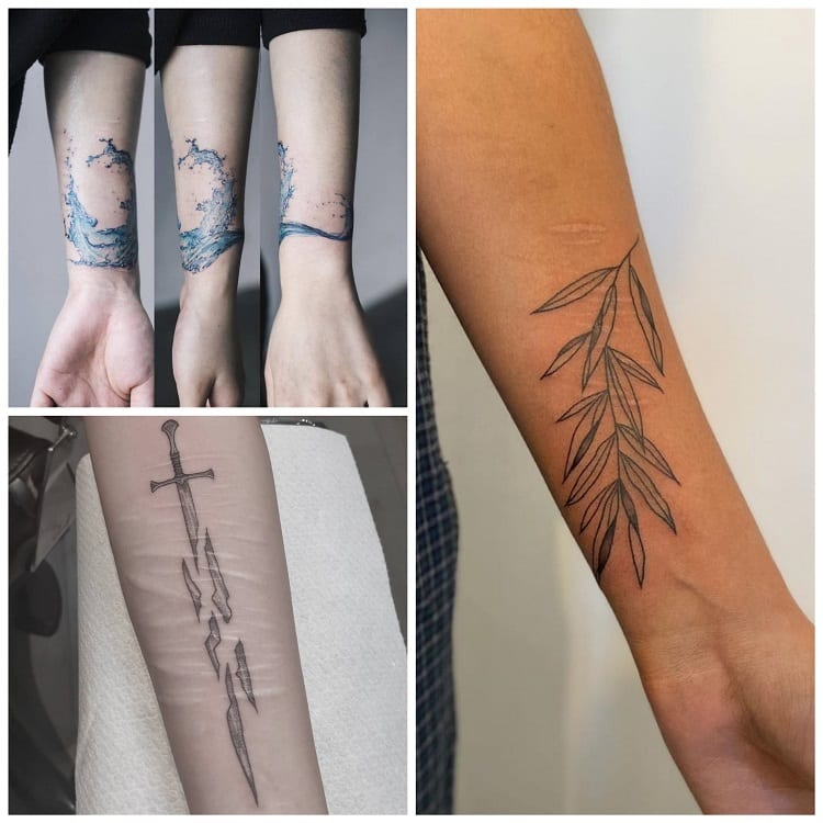 três ideias de tatuagem em cicatriz no pulso