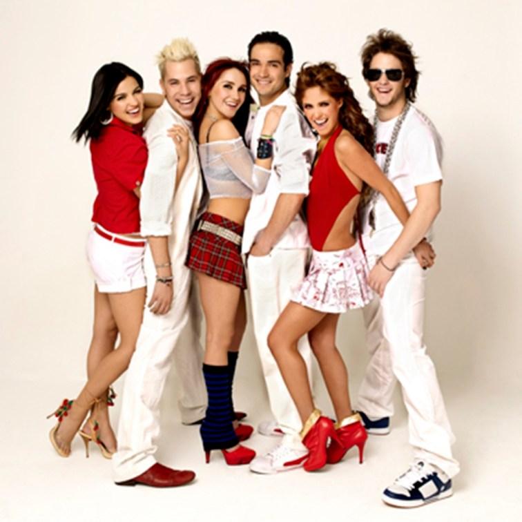 Integrantes da banda RBD.
