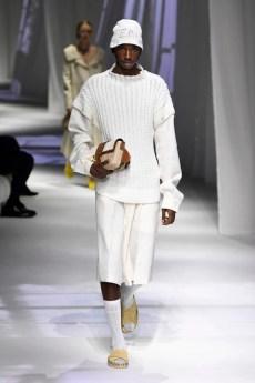 blusa de lã Fendi