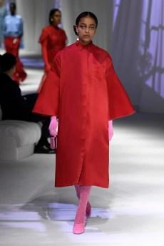 vermelho coleção Fendi
