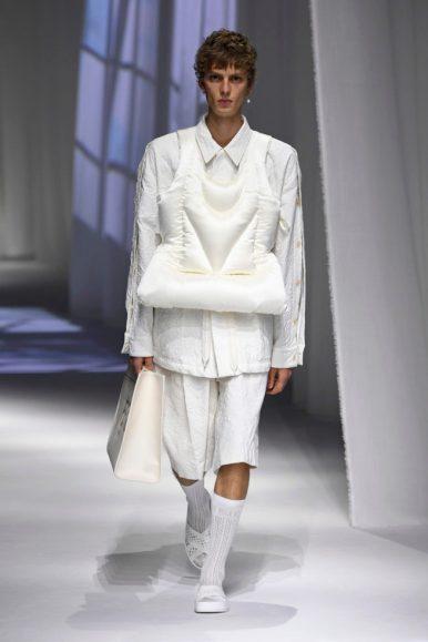 colete branco Fendi