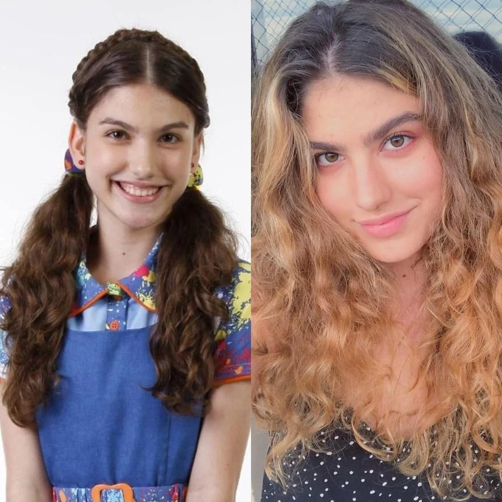 Antes e depois de Giovanna Grigio