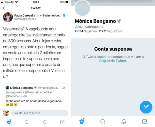 Paola Carosella discute no Twitter 2