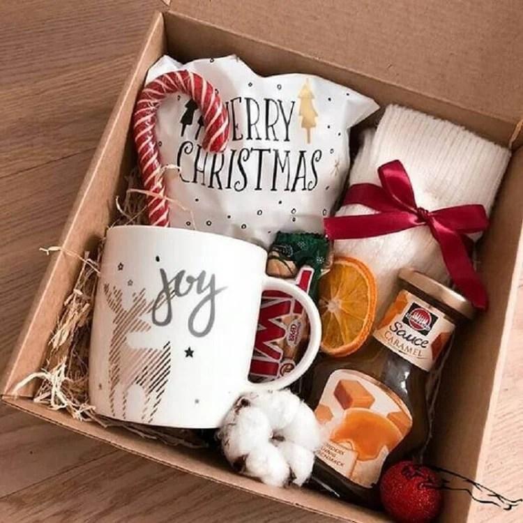 foto de caixa de presente para Natal