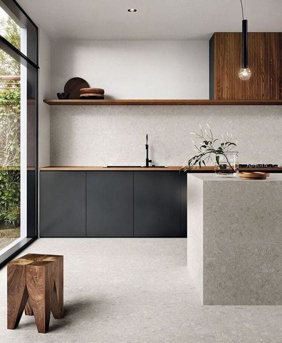 Cozinha moderna minimalista