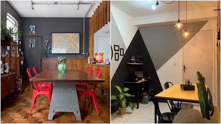 salas de jantar com decoração criativa