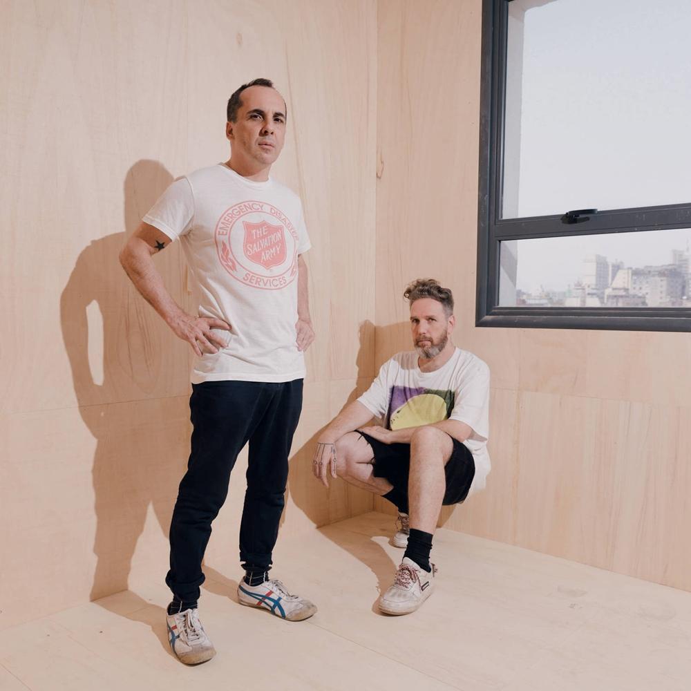 Alexandre Herchcovitch e Vinicius Campion, dois estilistas famosos