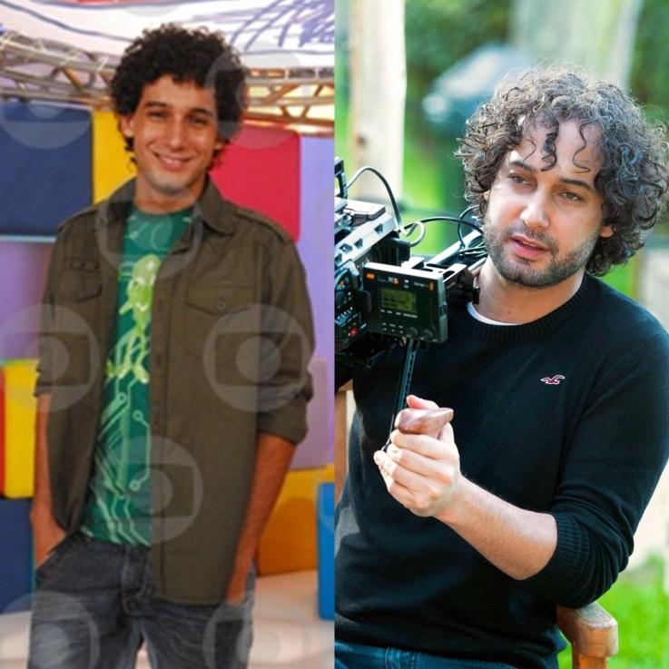 Rafael Almeida antes e depois.