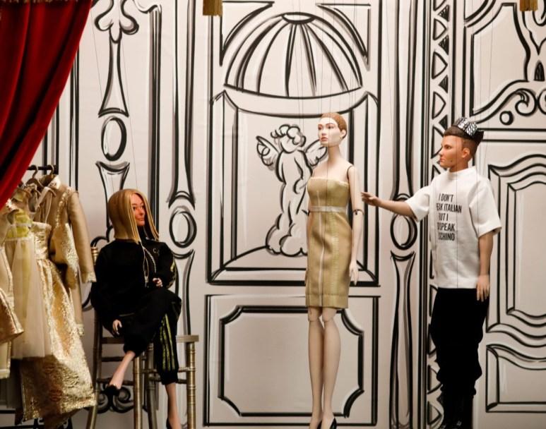 Fashion Weeks SS21 - Foto do desfile da Moschino com