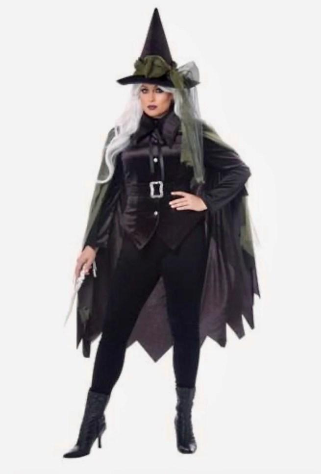Capa de Bruxa Halloween