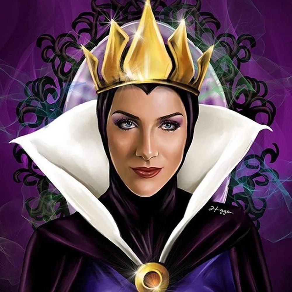 Teste de Halloween - Leão – Rainha Má (Branca de Neve e os Setes Anões)
