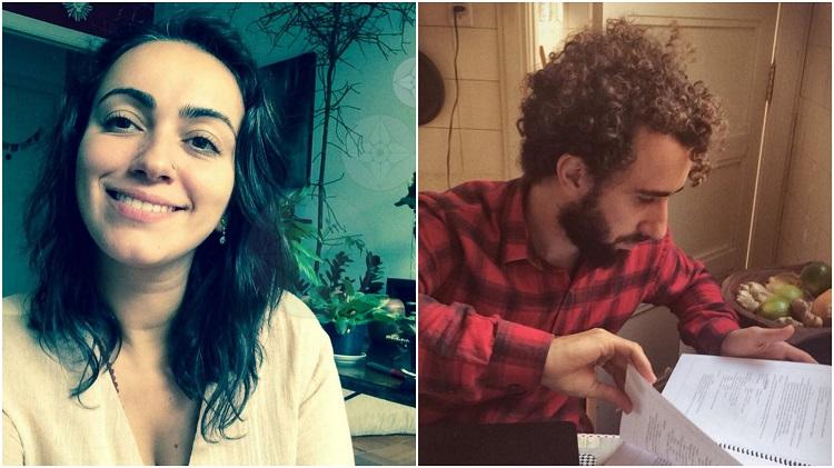 Cibeleh da Mata e Gabriel Pinheiro, casal de terapeutas de Ayurveda