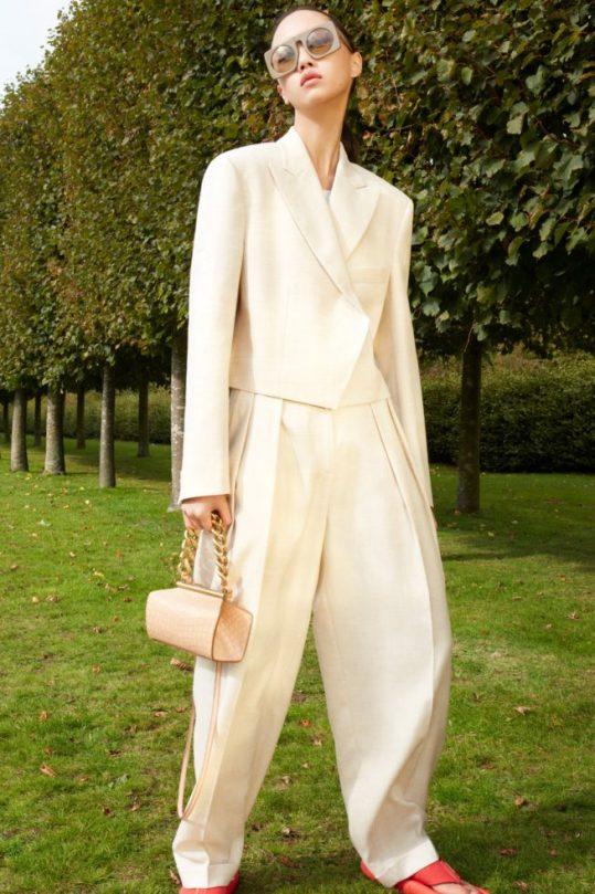 calça feminina coleção 2021 stella mccartney