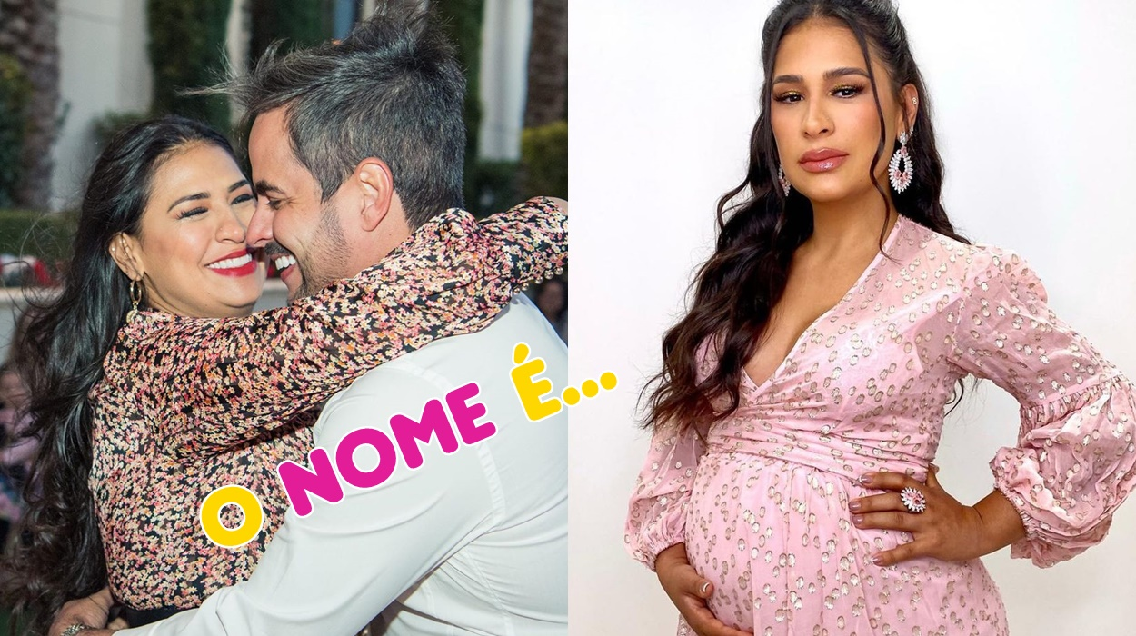 Simone e Kaká grávidos.