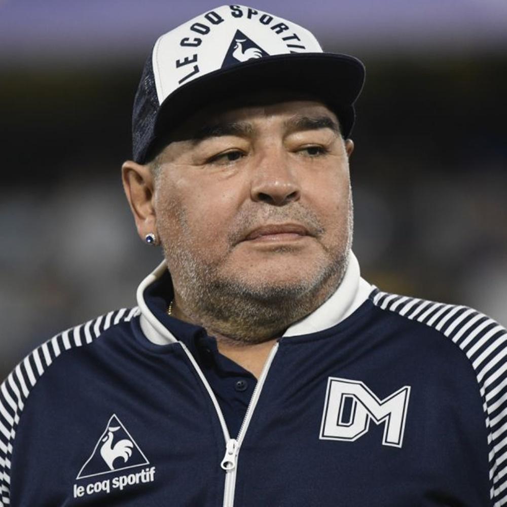 Ex-jogador Diego Maradonna.