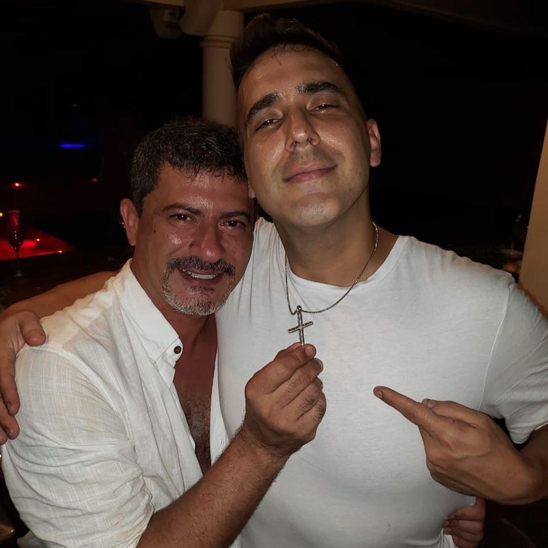 André Marques e Tom Veiga