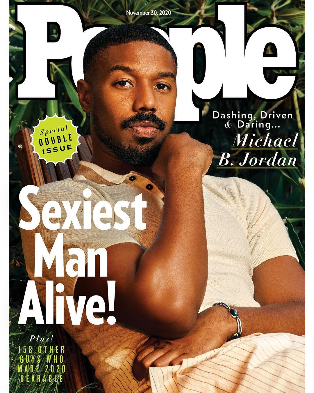 Capa da revista People, Michael B. Jordan.