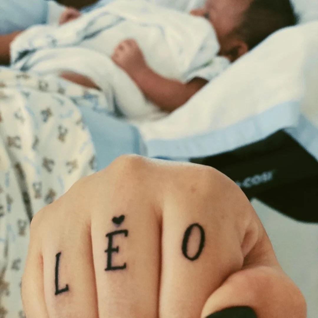 Tatuagem de Marília Mendonça para Léo.