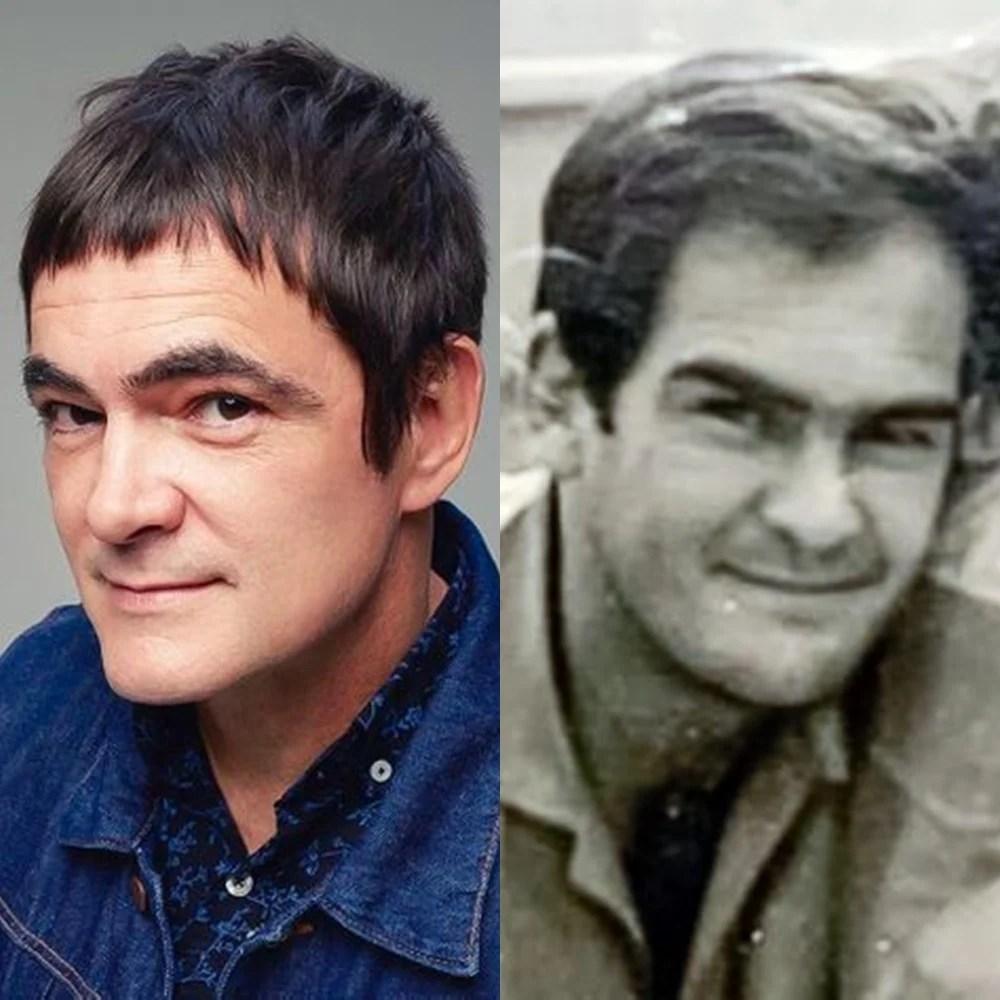 Samuel Rosa e pai em comparação.