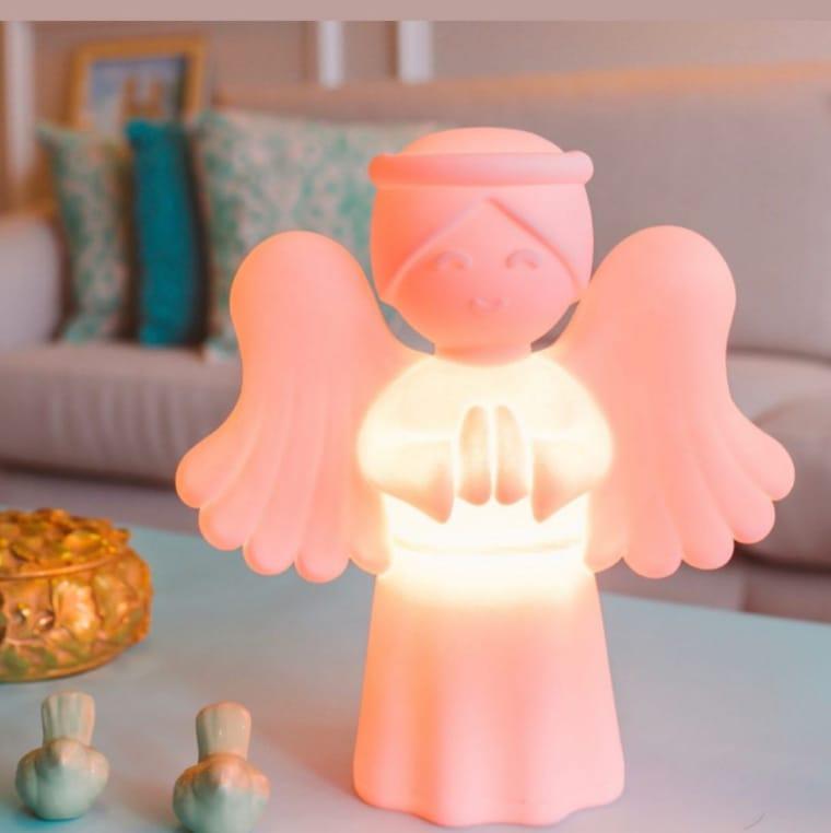 Luminária de anjo