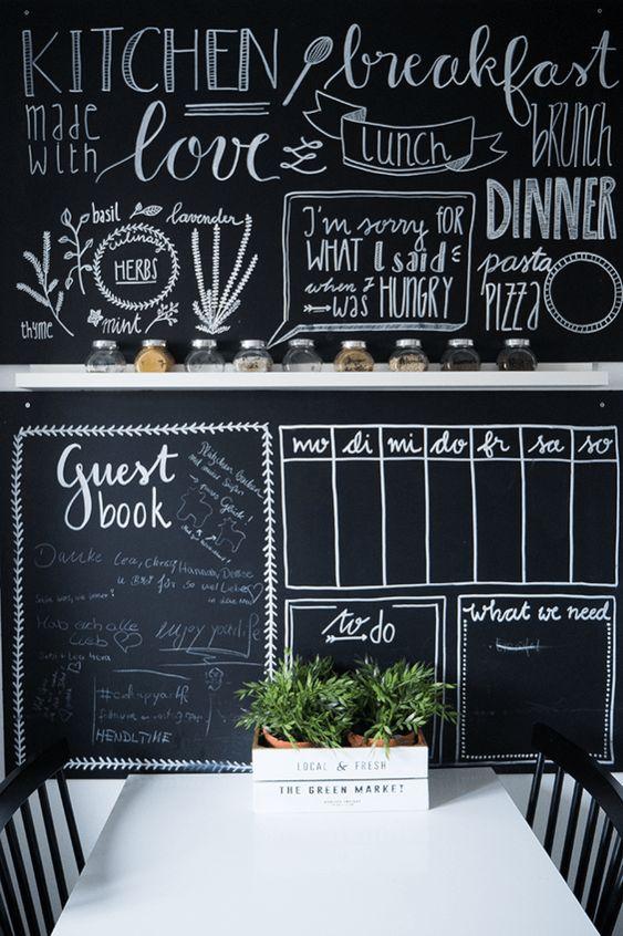 Planner na cozinha
