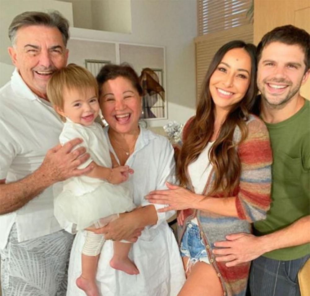 Família Sato completa.