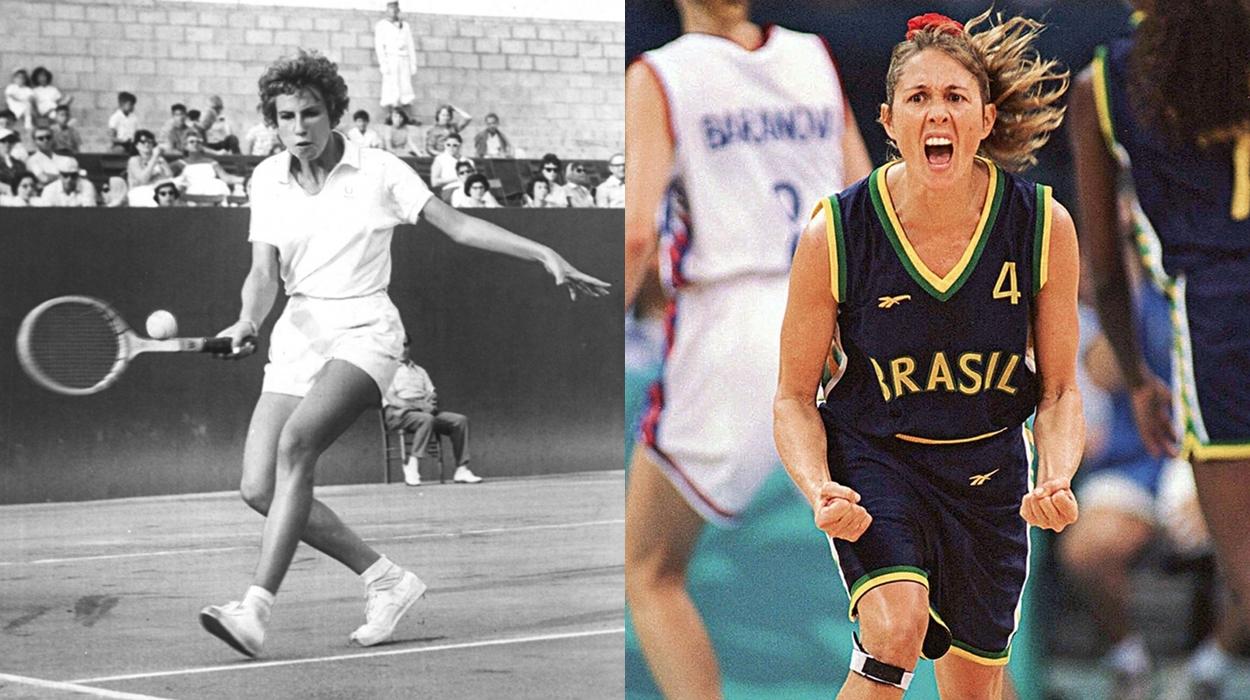 Atletas de jogos femininos brasileiros.