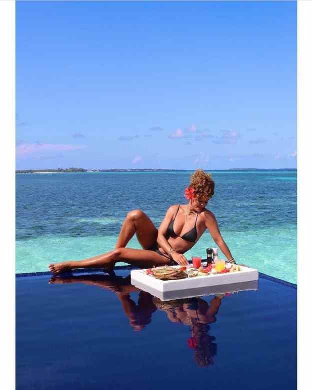 Juliana Paes nas Ilhas Maldivas
