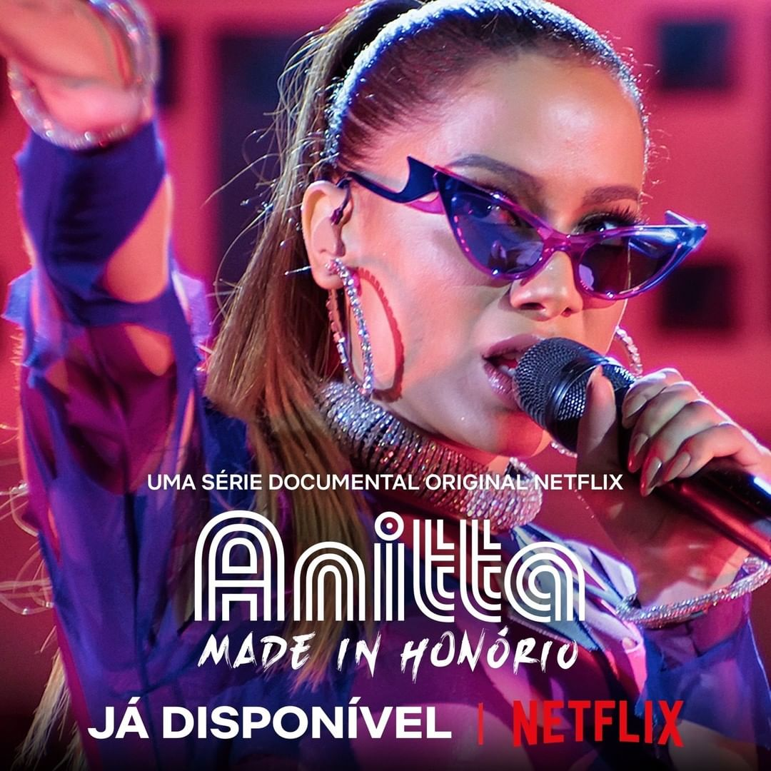 """Anitta: Made in Honório"" cartaz."