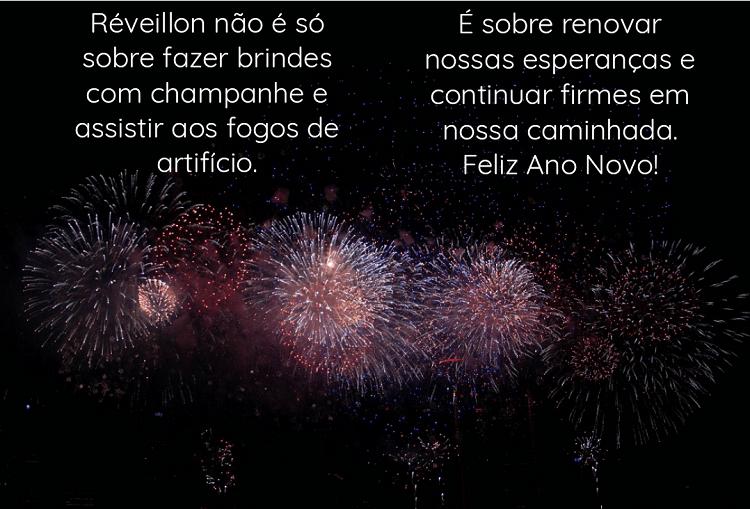 cartão virtual de Ano Novo
