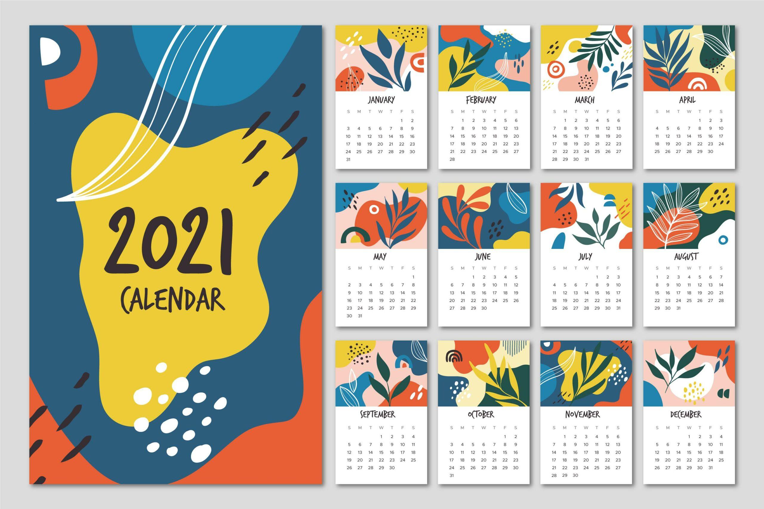 calendário 2021 para baixar
