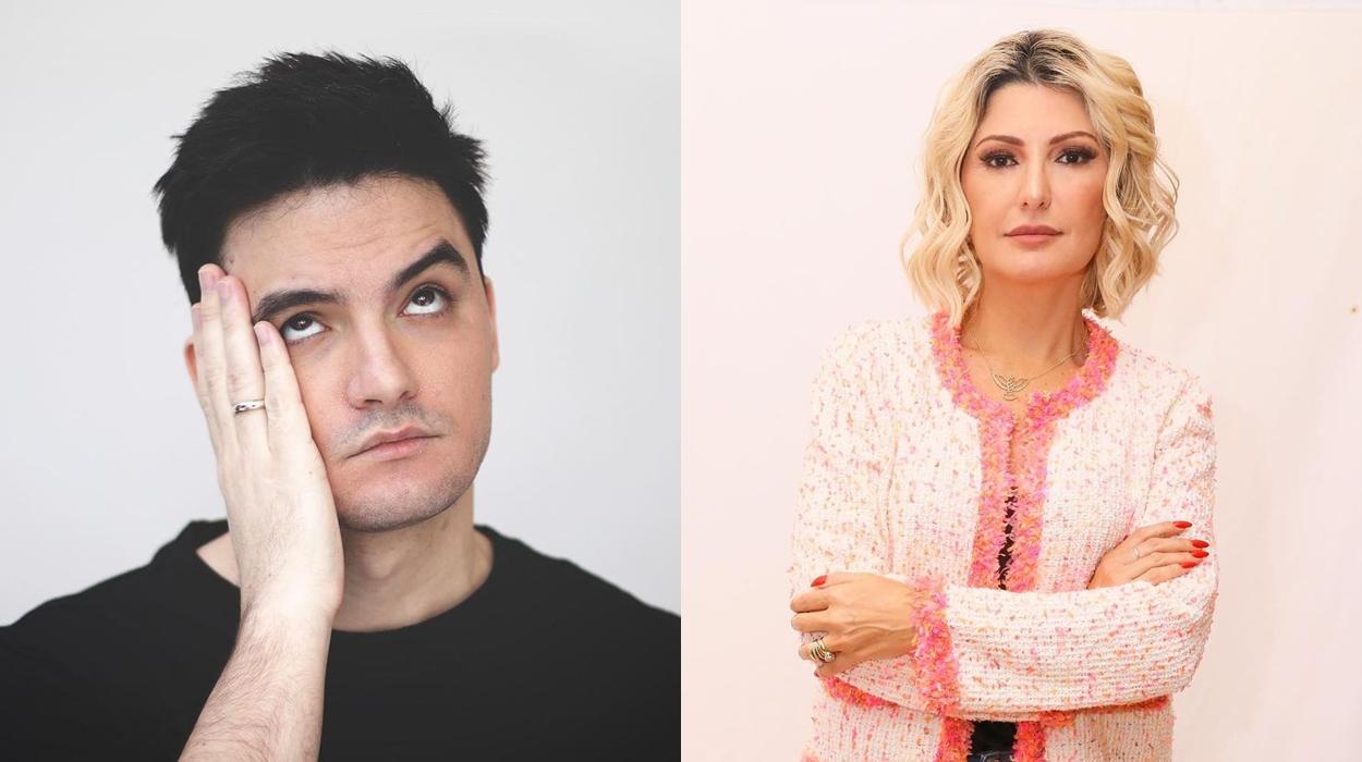 Felipe Neto e Antônia Fontenelle.