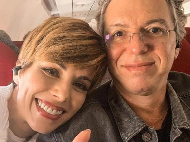 Ana Furtado e o esposo