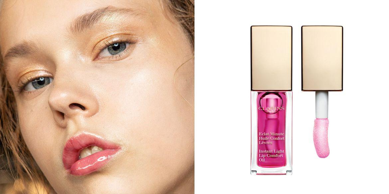 lip oil clarins