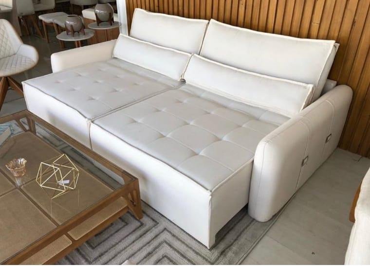 Sofá branco