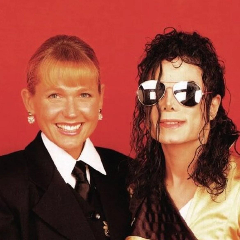 Xuxa Meneghel e Michael Jackson