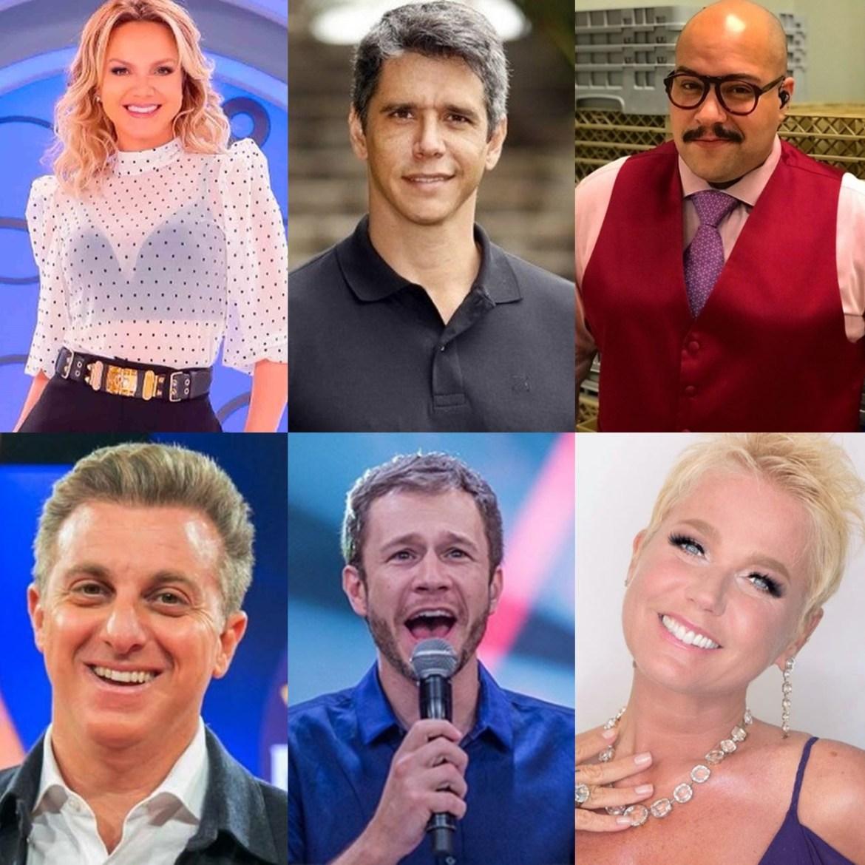 Apresentadores que podem substituir Faustão na rede Globo.