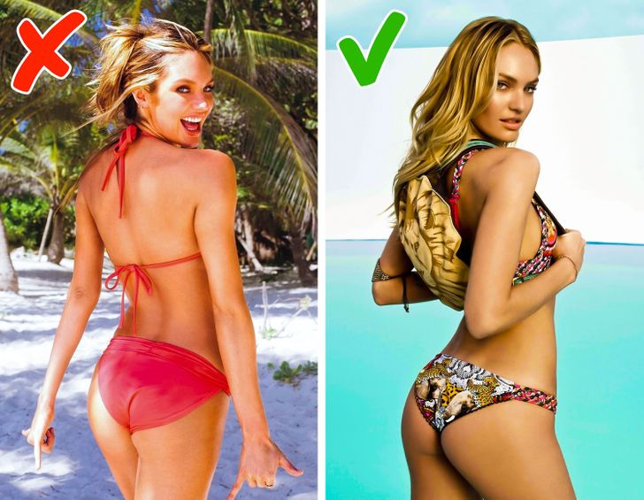 Décima dica top models: Fotos de costas.