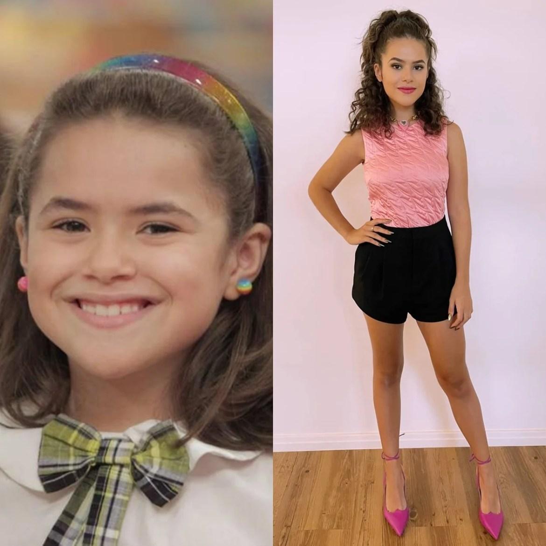 Maisa Silva, antes e depois de Carrossel.