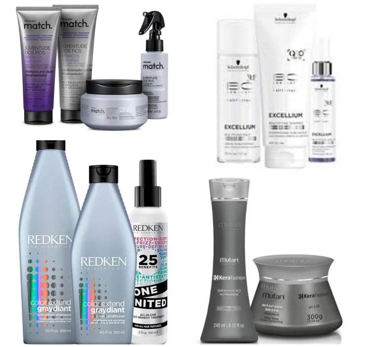 4 melhores produtos para cabelo branco