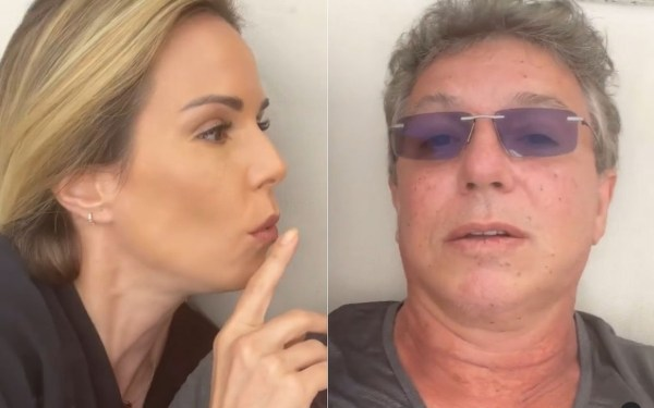 Boninho e Ana Furtado em vídeo - Reprodução