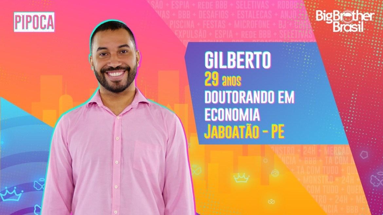 Gilberto do BBB21 - Globo