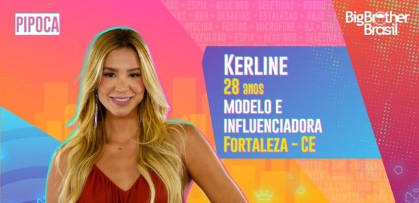 Kerline do BBB21 - Globo
