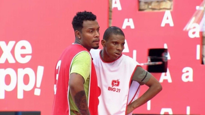Lucas Penteado e Nego Di - Foto: Globo