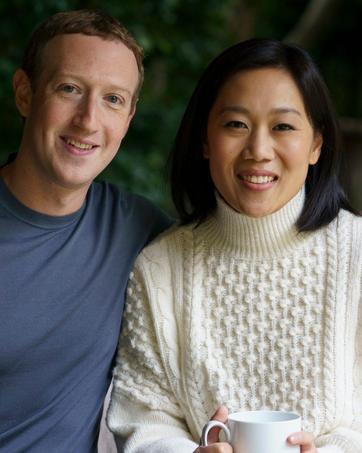 Mark Zuckerberg e Priscilla.