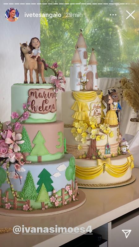 festa do aniversário das filhas de Ivete