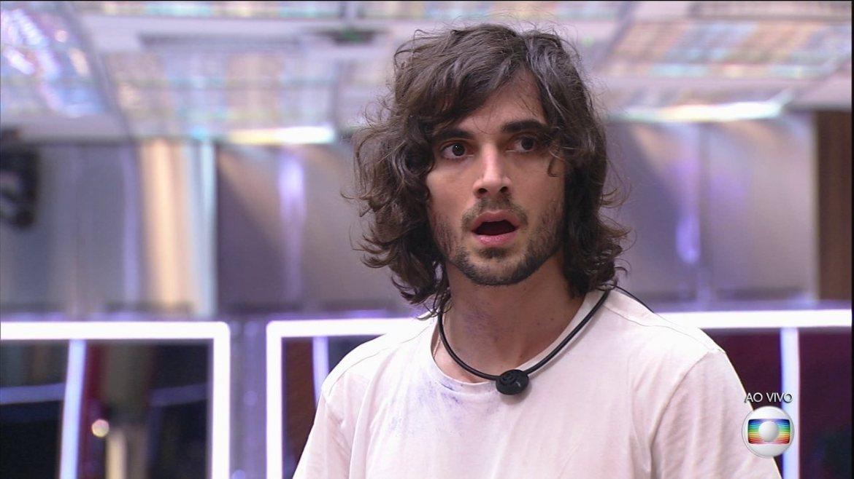 Caio sugeriu voto em Arthur - Globo BBB21