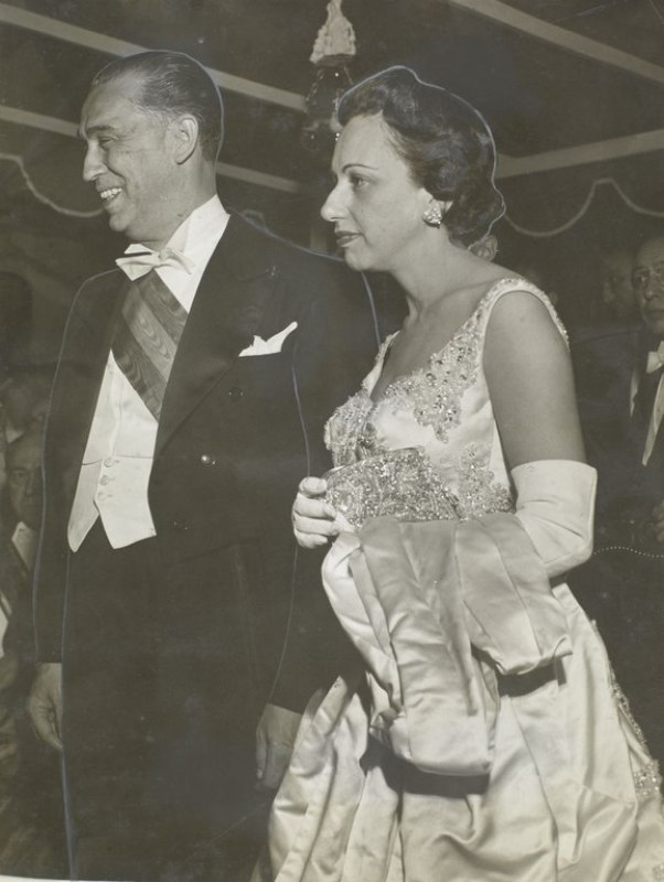 Juscelino e Sarah Kubitschek 1956.