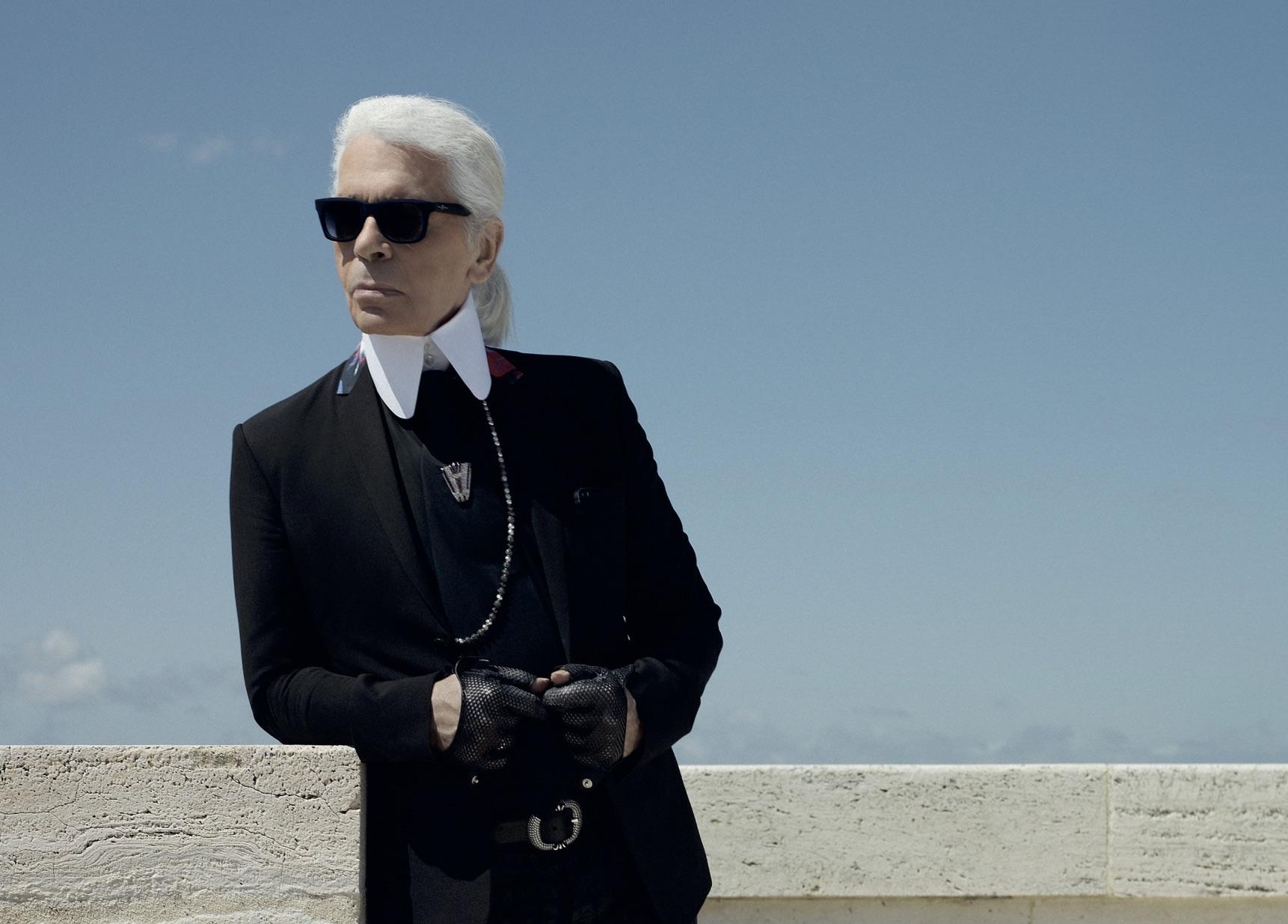 Karl Lagerfeld. Fonte: Prestige.