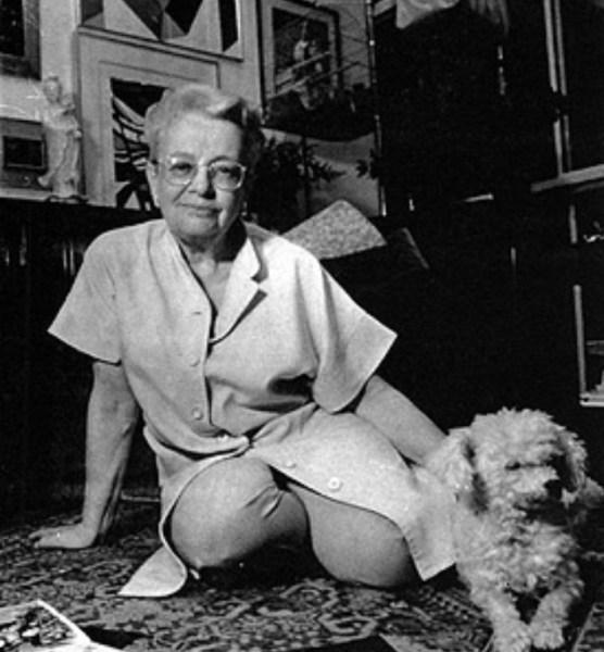 Madalena Schwartz , ca. 1985.